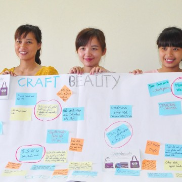 Improvement and positive changes at Craftbeauty fairtrade after the assignment support from ABV