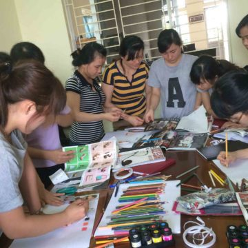 Emotional and inspirational stories behind products. Skillful hands create nice quality items.